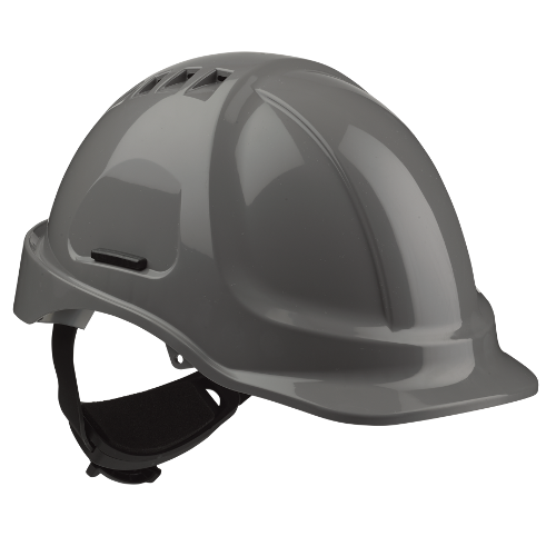 SCP Vhelm HC635V ABS vented dk grs